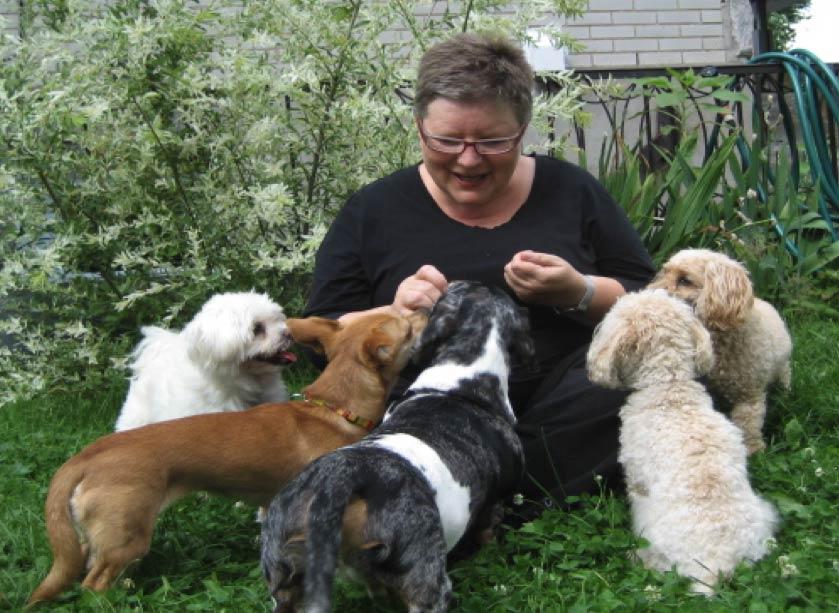 Jacinthe et les chiens - Jacinthe St-Pierre Zoothérapie - intervenante comportement canin