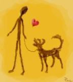 Coeur canin